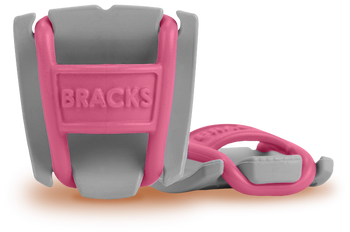 BRACKS lace lock - Grey/Pink