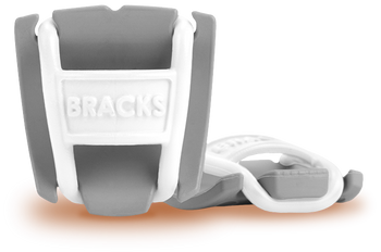 BRACKS lace lock - Grey/White