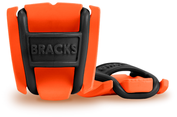 BRACKS lace lock - Orange/Black