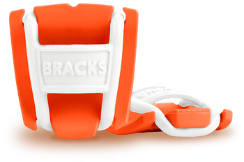 BRACKS lace lock - Orange/White