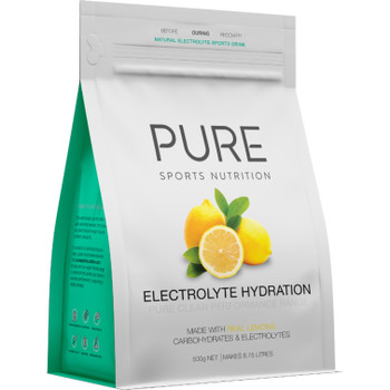 PURE Electrolyte Hydration - Lemon - 500g