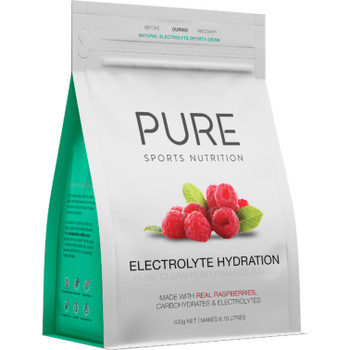 PURE Electrolyte Hydration - Raspberry - 500g