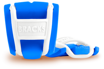 BRACKS lace lock - Blue/White