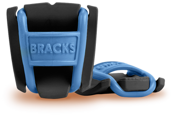 BRACKS lace lock - Black/Blue