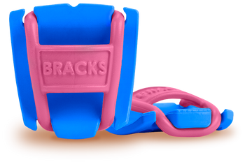 BRACKS lace lock - Blue/Pink
