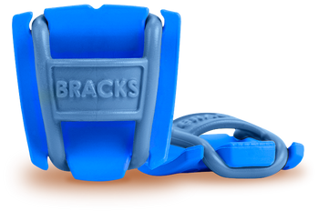 BRACKS lace lock - Blue/Blue