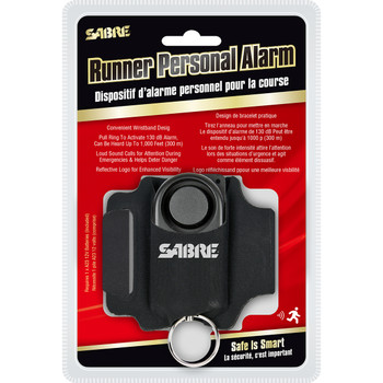Runner Personal Alarm with Adjustable Wrist Strap
