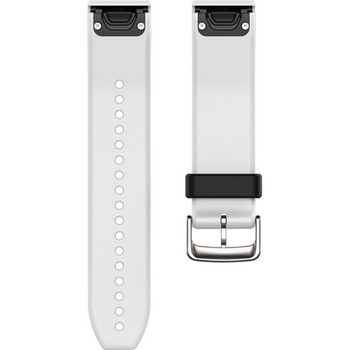 Garmin QuickFit 22 Watch Band - White Silicone (010-12500-01)