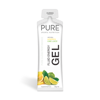 PURE Energy Gel Lemon Lime 50g