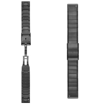 Garmin QuickFit 22 Watch Band - Carbon Gray DLC Titanium