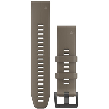 Garmin QuickFit 22 Watch Band - Coyote Tan Silicone (010-12740-05)