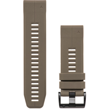 Garmin QuickFit 26 Silicone Band - Coyote Tan (010-12741-04)