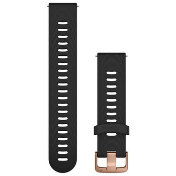 Garmin Quick Release 20mm Band - Black with Rose Gold (010-11251-1H)