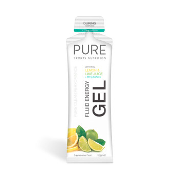 PURE Fluid Gel Lemon Lime + Caffeine 50g