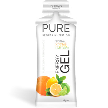 PURE Energy Gel 35g - Orange Lemon Lime (35EGOLL)
