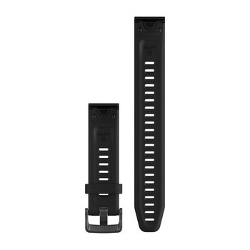 Garmin QuickFit 20 Silicone Watch Band - Black - Large (010-12739-07)