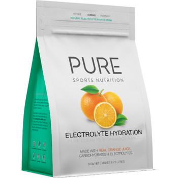 PURE Electrolyte Hydration - Orange - 500g