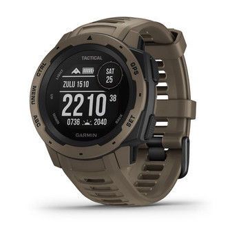 Garmin Instinct - Tactical Edition - Coyote Tan