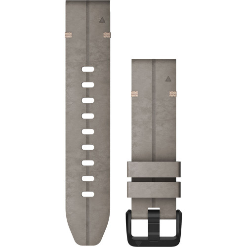 Garmin QuickFit 20 Suede Leather Watch Band (Shale Gray)