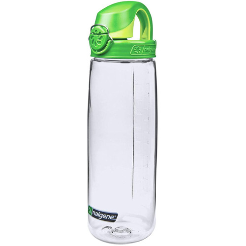 Nalgene On The Fly 650 ml Drink Bottle - Clear/Green (NG55654024)