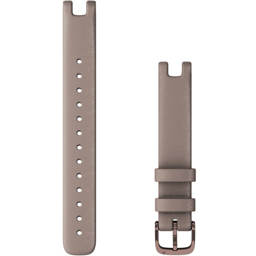 Replacement Garmin Lily Band (14 mm) Paloma Italian Leather with Dark Bronze Hardware (010-13068-A0)