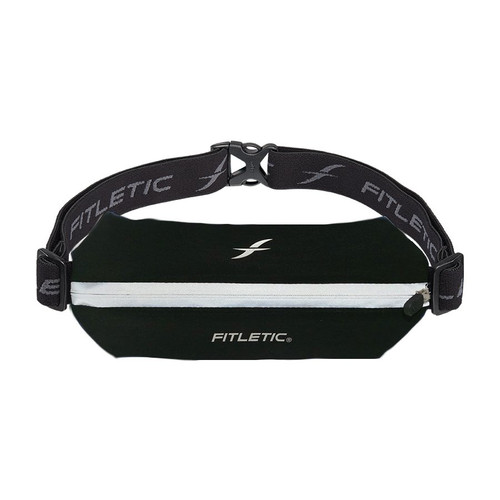 Fitletic Mini Sport PLUS Black/ Reflective Zipper