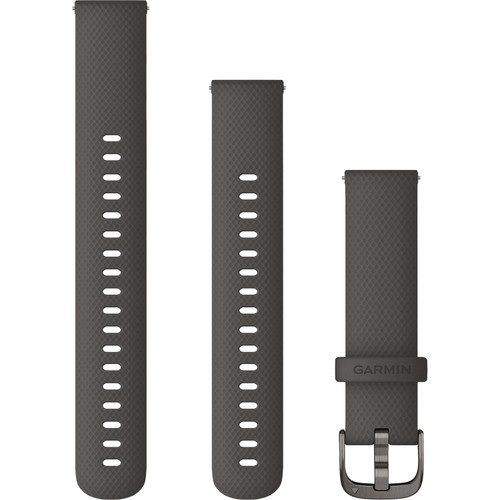 Garmin Quick Release Bands (18 mm) Graphite with Slate Hardware
