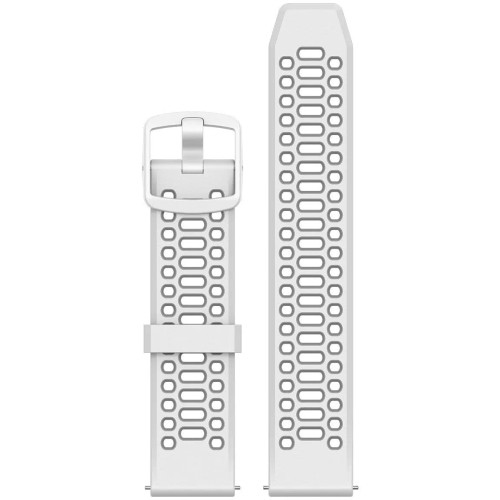 Replacement COROS Pace 2 Silicone Band - White (WPACE2-WB-WHT)