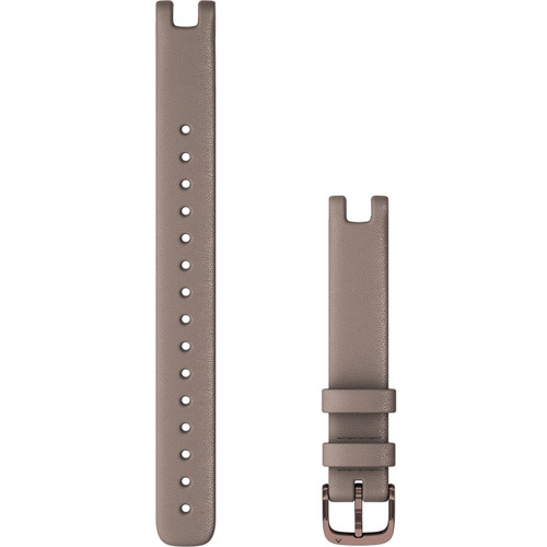 Large Garmin Lily Band (14 mm) Paloma Italian Leather with Dark Bronze Hardware (010-13068-A4)