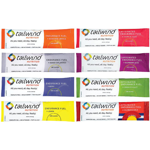 Tailwind Grab-and-Go Endurance Fuel Single Serve Assorted Flavours
