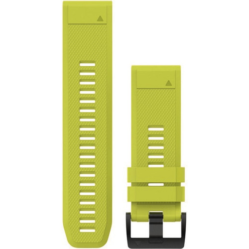 Garmin QuickFit 26 Watch Band Amp Yellow Silicone (010-12517-01)