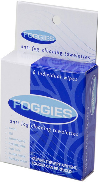Foggies Individual Towlettes 6 Pack