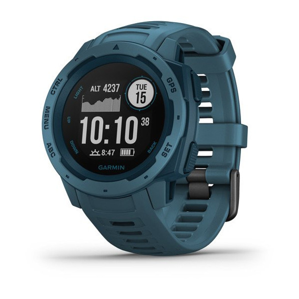 Garmin Instinct GPS Watch - Lakeside Blue (010-02064-04)