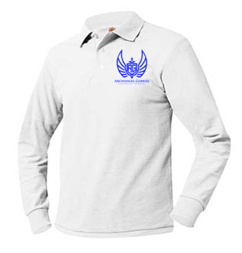 Pique Polo Long Sleeve-AGS