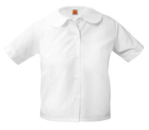 Girls Broadcloth PeterPans Short Sleeve-STL