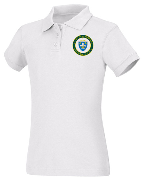 Girls Fit Polo Short Sleeve-STL