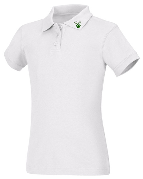 Girls Fit Polo Short Sleeve-ES