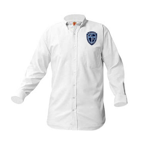 Mens Oxfords Long Sleeve-BCHS