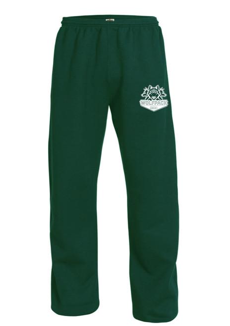 Open Bottom Sweat Pants-MMA