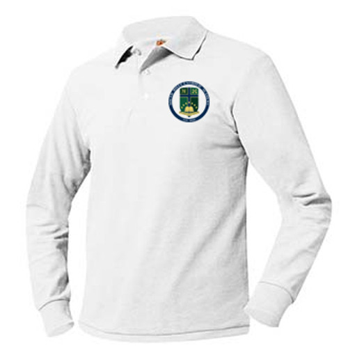 Pique Polo Long Sleeve-SHCA