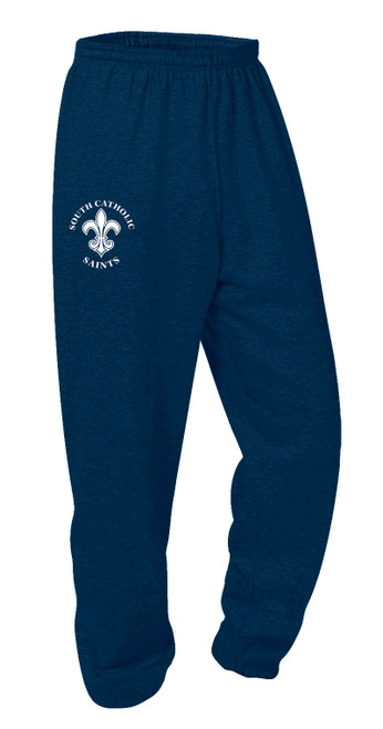 Elastic Bottom Sweat Pants-SHCA