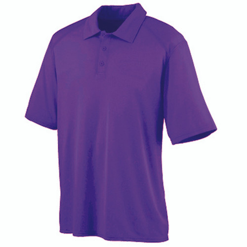 Purple Dri-Fit Short Sleeve Polo- CLEARANCE