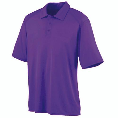Purple Dri-Fit Short Sleeve Polo- CLEARANCE