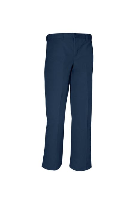 Boys Husky Flat Front Pants (1N)