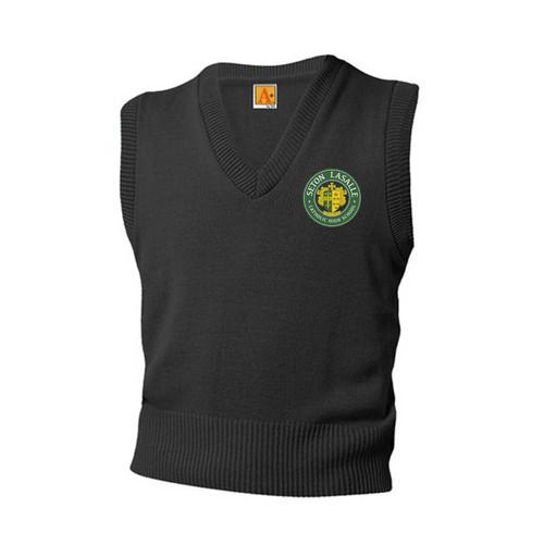 Jersey V-Neck Pullover Vest