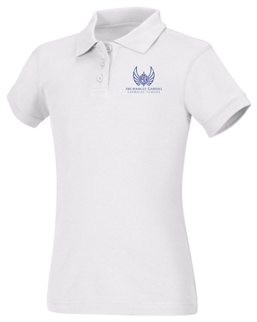 Girls Fit Polo Short Sleeve-AGS