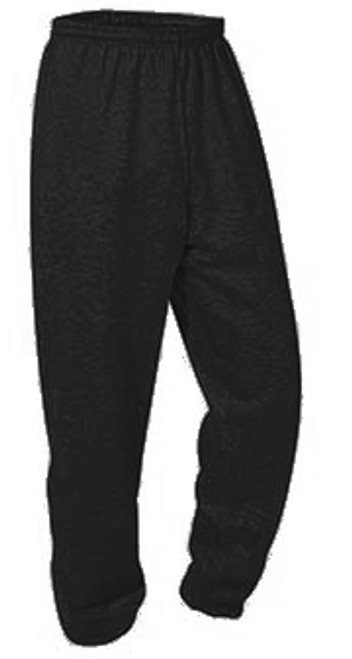 Elastic Bottom Sweat Pants-blk