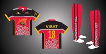 Cricket Sublimation Uniform Set