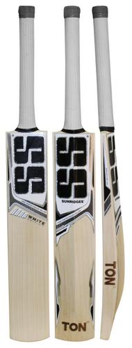 SS White Edition Green Cricket Bat