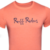 Ruff Riders SCRIPT Tee (Orange and Navy)